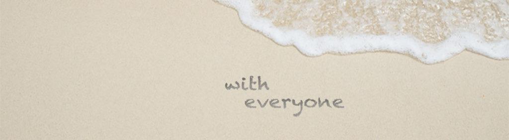 みんなが みんなで 健康になる with everyone