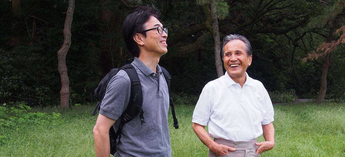山本學さん、笑顔の秘密はどこにあるのですか?