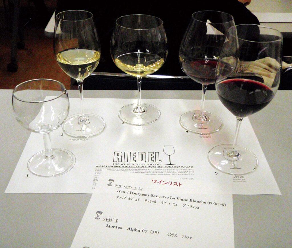 ワインとグラスのいい関係
