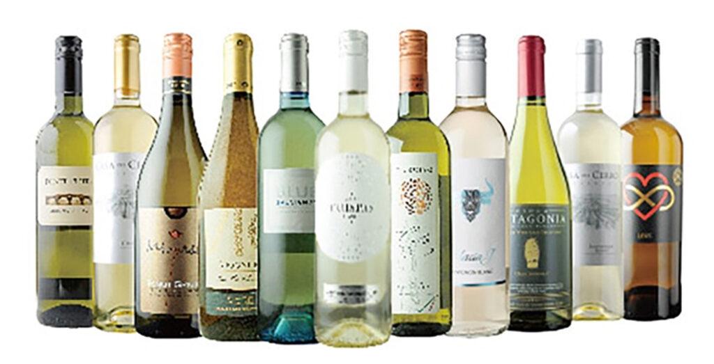 送料無料白ワインセットの例